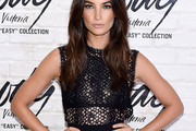 Lily Aldridge Sheer Top