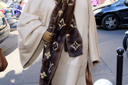 Andre Leon Talley Fur Scarf