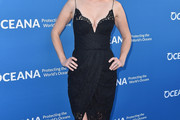 January Jones Little Black Dress
