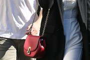 Kate Mara Chain Strap Bag
