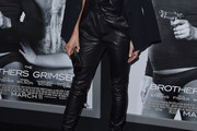 Kate Beckinsale Leather Pants