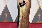 Margot Robbie Tasselled Clutch