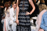 Victoria Justice Embroidered Dress