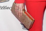 Nikki Reed Studded Clutch