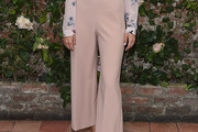 Zoey Deutch Wide Leg Pants