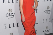 Juliette Lewis One Shoulder Dress