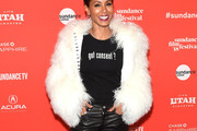 Jada Pinkett Smith Fur Coat