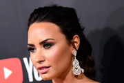 Demi Lovato Long Braided Hairstyle