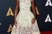 Lupita Nyong'o Embroidered Dress