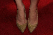 Alexandra Daddario Evening Pumps
