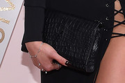 Shay Mitchell Leather Clutch
