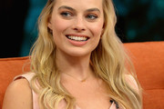 Margot Robbie Long Partially Braided