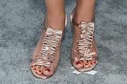 Morena Baccarin Evening Sandals