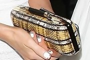 Kate Beckinsale Printed Clutch