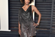 Halle Berry Mini Dress