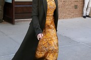 Kate Hudson Wool Coat