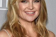 Kate Hudson Long Wavy Cut with Bangs