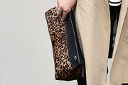 Clemence Poesy Printed Clutch