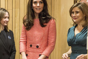 Kate Middleton Fitted Blouse