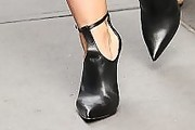 Hilary Duff Cutout Boots