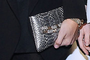 Joanna Hillman Metallic Clutch