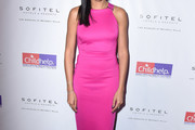Selita Ebanks Form-Fitting Dress