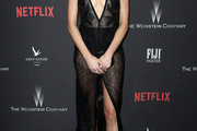Nicole Trunfio Sheer Dress
