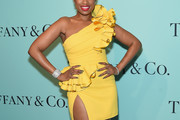 Jennifer Hudson One Shoulder Dress