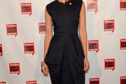 Christy Turlington Burns Little Black Dress