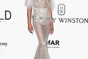 Chanel Iman Sheer Dress